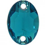3210 Blue Zircon 10x7mm