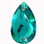 3230 Blue Zircon 28x17mm